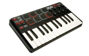 midi keyboard 300x188 - How can I setup a simple home recording studio?