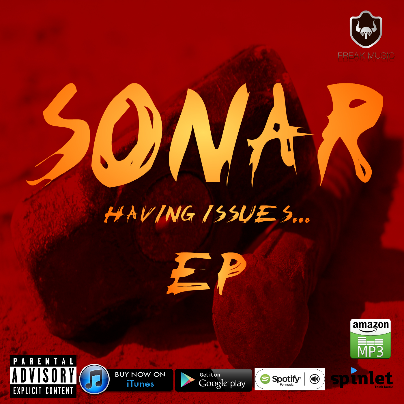 sonar's producer album - having issues ep