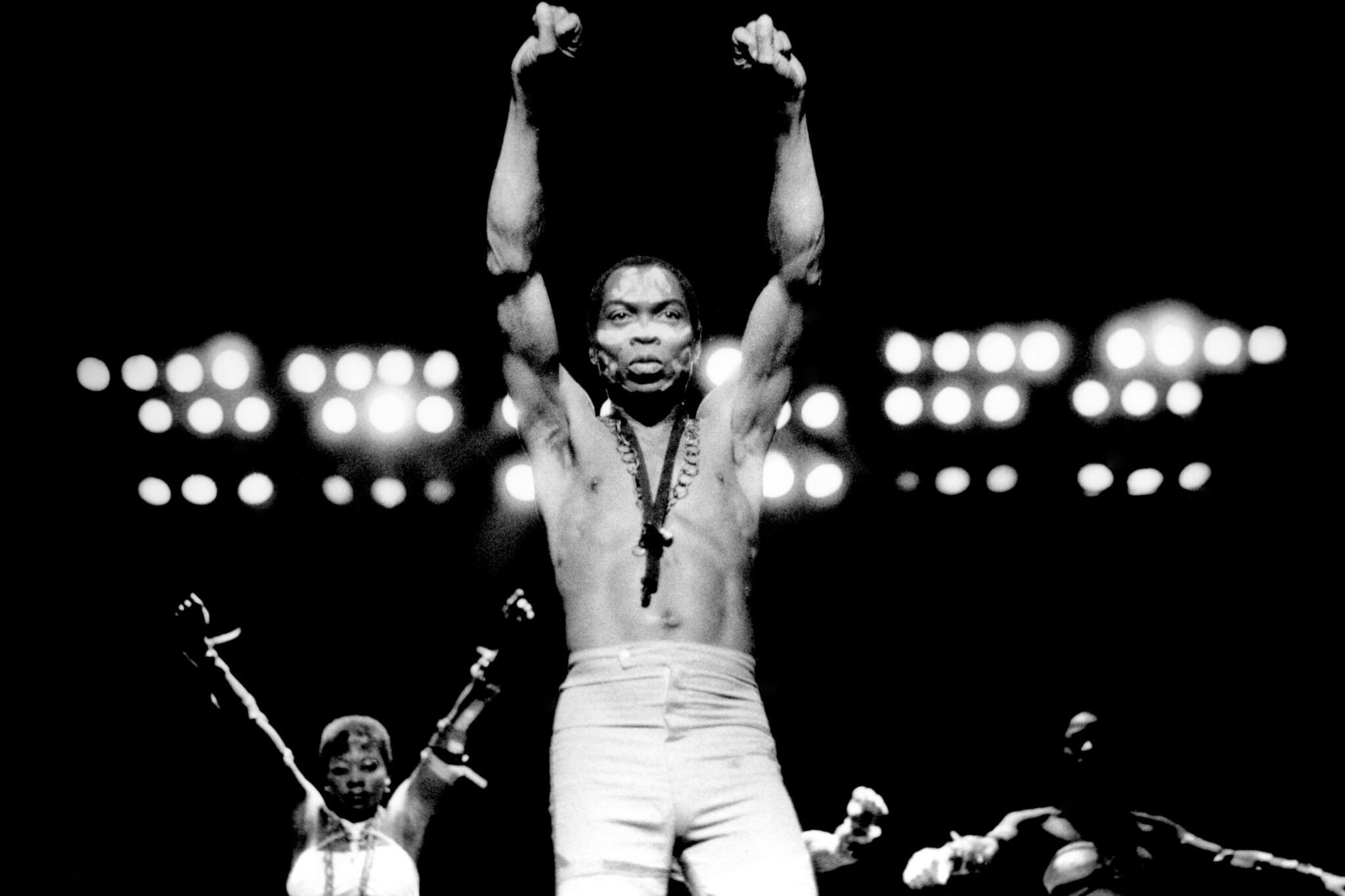 Fela at Orchestra Hall in Detroit  - Few Songs To kickstart Your Afrobeat Genre Addiction