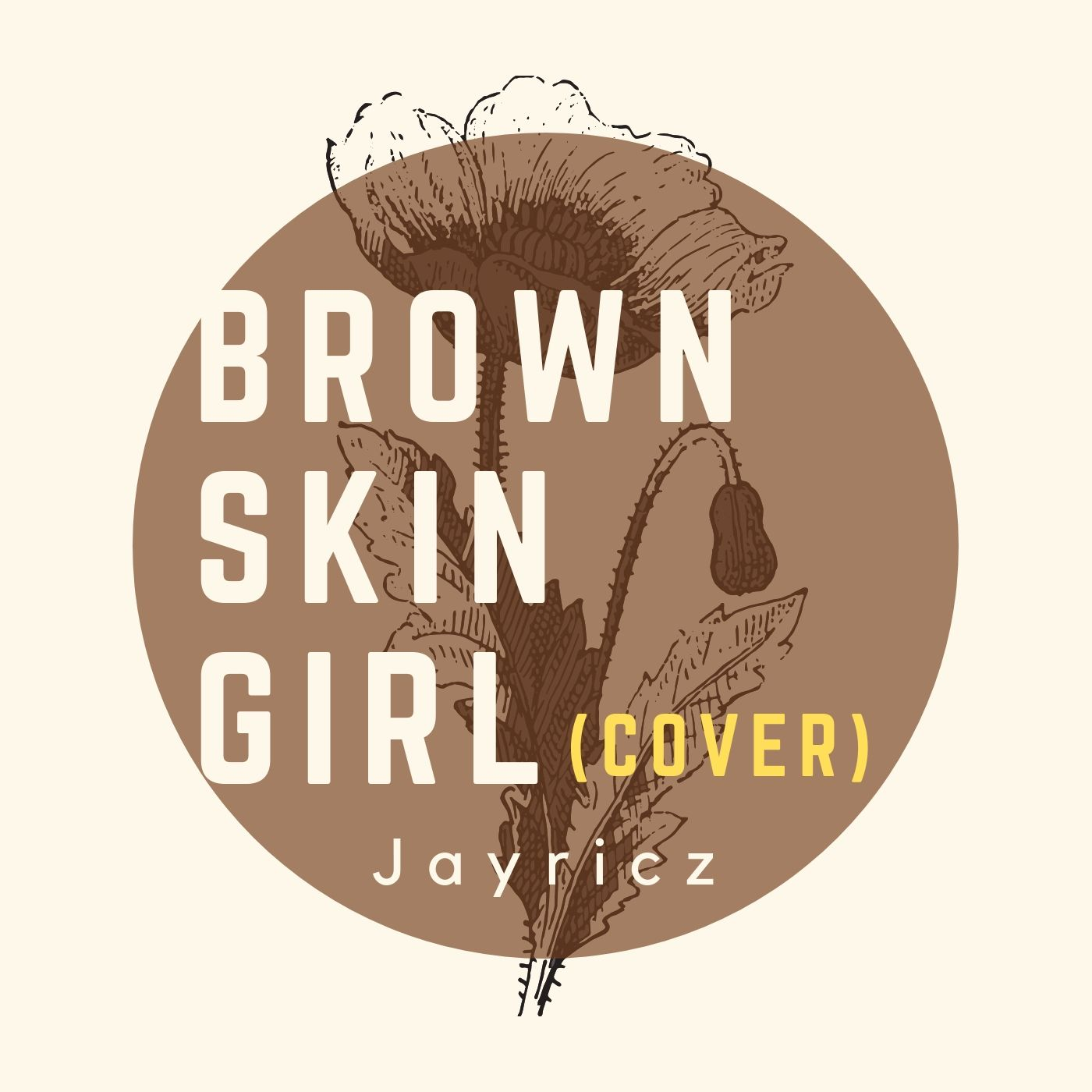 brown skin girl cover by jayricz